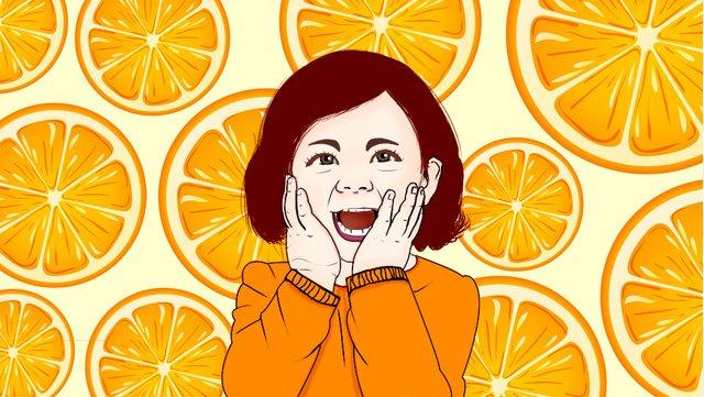 Hello september excited child llustration image