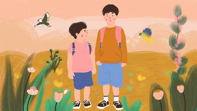 september hello children go to school llustration image illustration image