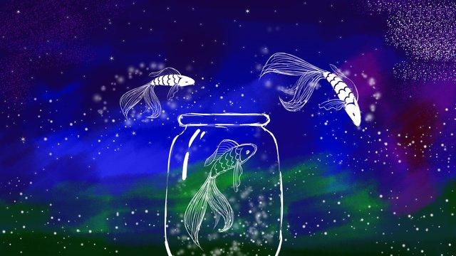 wonderland mộng du và cá vui vẻ Hình minh họa