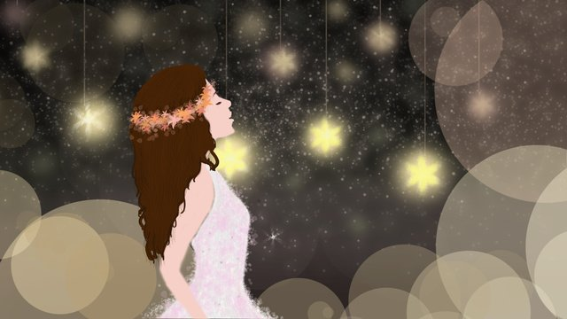 dreaming wonderland 꿈의 세계 즐기기 그림 이미지 일러스트레이션 이미지