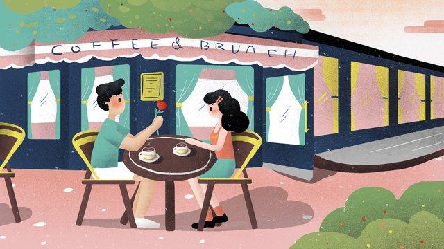 cặp đôi tanabata hẹn hò minh họa Hình minh họa