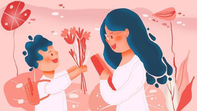 happy teachers day holiday illustration llustration image illustration image