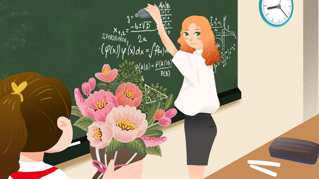 happy teachers day llustration image illustration image
