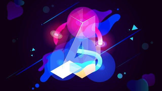 digital illustration 4 technology sense ambilight fluid gradient 25d llustration image illustration image