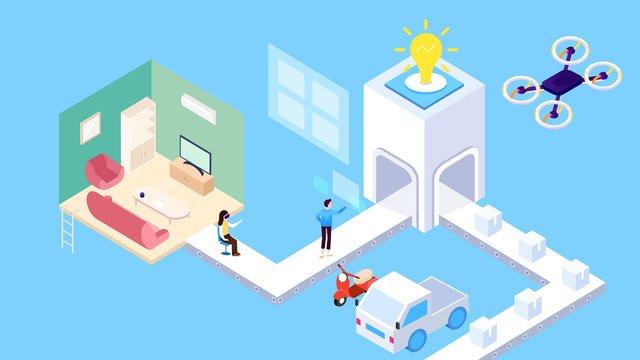 25d бизнес технологии будущего Ресурсы иллюстрации