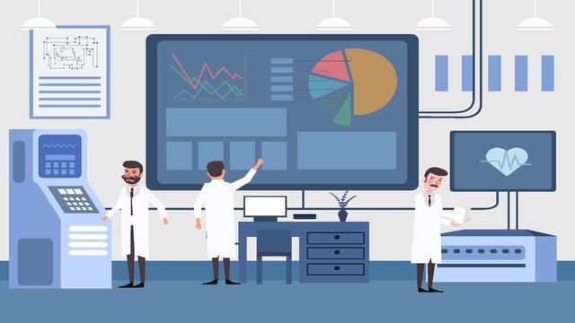 nhân viên công nghệ gốc minh họa môi trường văn phòng Hình minh họa Hình minh họa