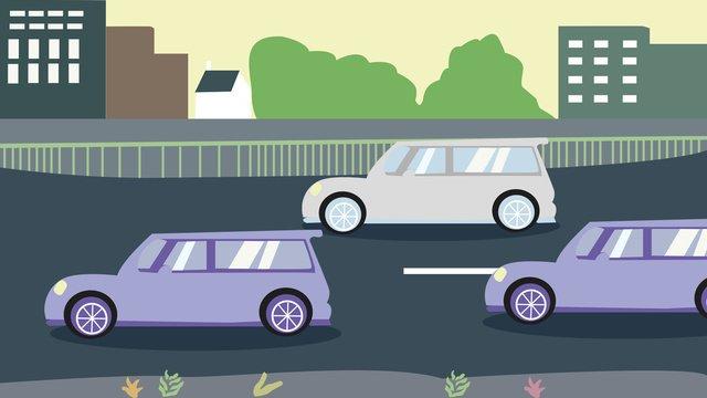 交通安全デー文明運転のイラストレーター交通  安全性  文明運転 PNGおよびPSD illustration image