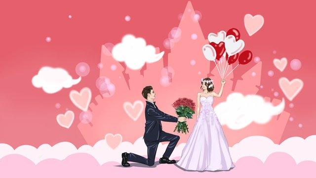 kết hôn với tôi trong mùa cưới minh họa ban đầu Hình minh họa Hình minh họa