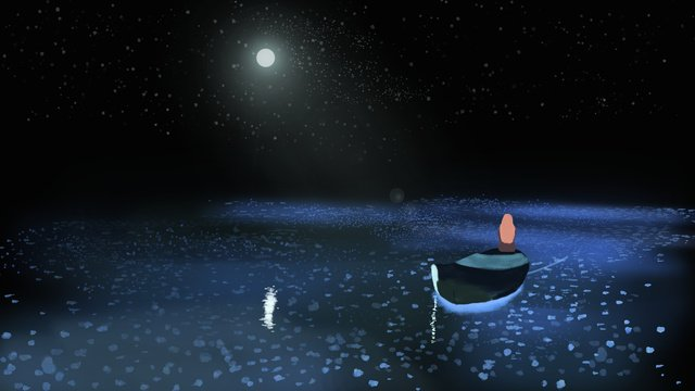 hello goodnight xinghai 치유 핸드 신선 일러스트레이션 삽화 소재
