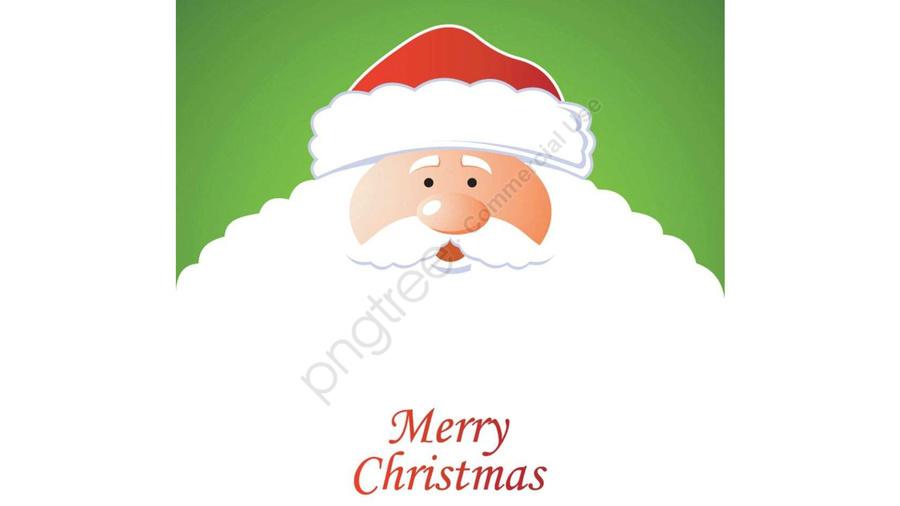 Santa Claus Sitting On A Sled Illustration Under Christmas Moonlight, Christmas, Moonlight, Santa Claus llustration image