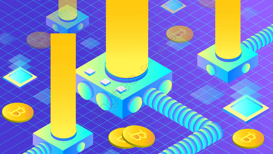 Artificial intelligence virtual coin measure illustration, Original, Artificial Intelligence, Technology llustration image