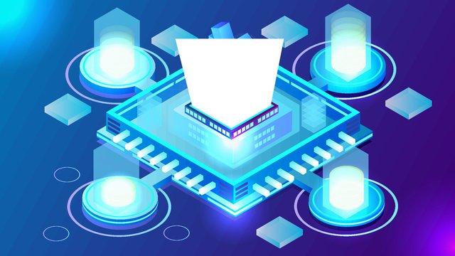 2 5d technology blue finance vector illustration llustration image illustration image