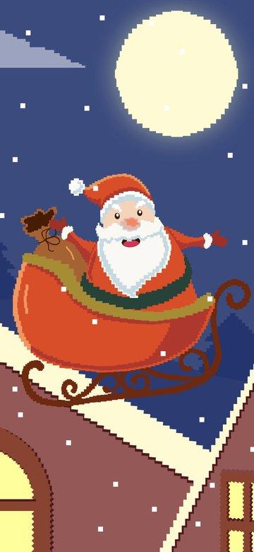 الرجل الكبير في السن، عن، ال التعريف، سقف، ب، الأيلات، أعياد الميلاد، 80s، retro، pixel، wind الصور المدرجة
