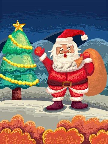 80s، retro، البكسيل عيد الميلاد، claus santa، العطاء، الهدايا، البكسيل، painting مواد الصور المدرجة الصور المدرجة