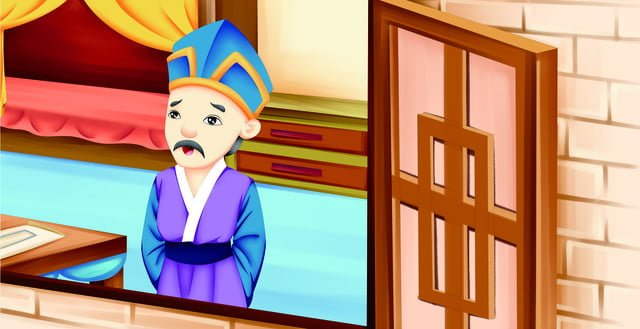 four famous masterpieces of the red building dream cartoon illustration picture 8 llustration image illustration image