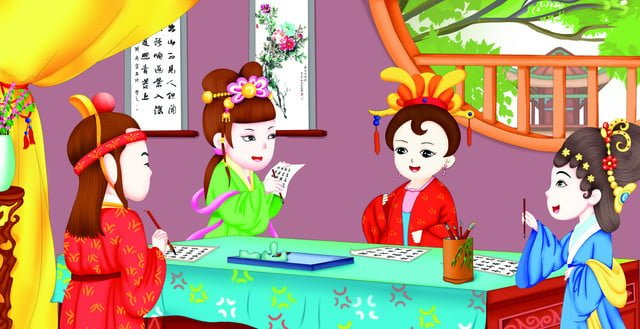 four famous masterpieces illustration red house dream picture book 10 llustration image illustration image