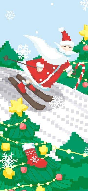 santa sleigh، تمزلج، 80s retro، بكاء، تصوير، عن، ثلجي البياض، جانب التل مواد الصور المدرجة الصور المدرجة