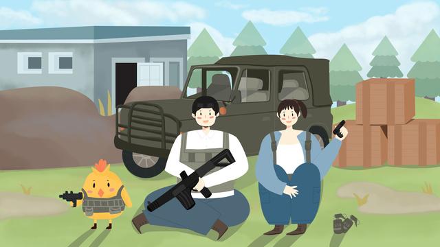 Play jedi survival game defend to tianming, Jedi Survival, Stimulating Game, Decisive Battle illustration image