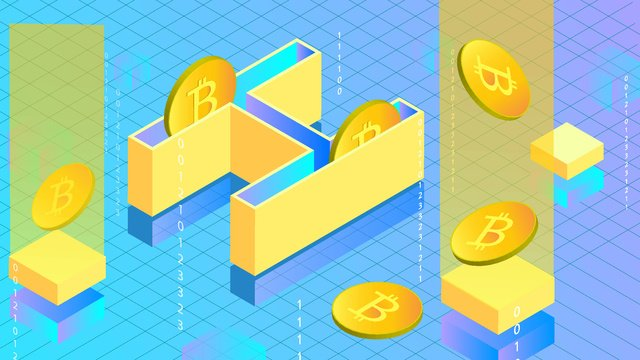 moeda virtual com a letra h2 5d Material de ilustração Imagens de ilustração
