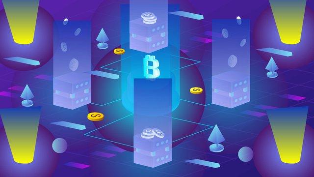 Bản gốc vẽ tay minh họa tài chính bitcoin 25dVẽ  Tay  Ban PNG Và Vector illustration image