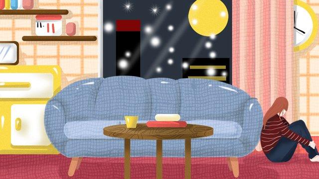 Original illustration singles life for, Original Illustration, Wallpaper, Festival illustration image