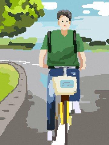 retro pixel painting صن شاين بوي كامبوس الدراجات مواد الصور المدرجة الصور المدرجة