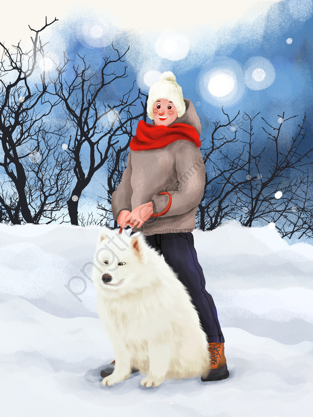 December Hello Little Boy Playing In Winter Snow Outdoors, Hello, December., Winter llustration image
