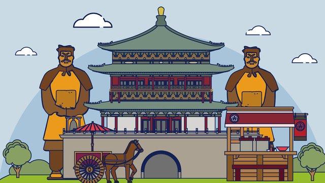 도시 로고 건물 벡터 일러스트 레이션 그림 이미지 일러스트레이션 이미지