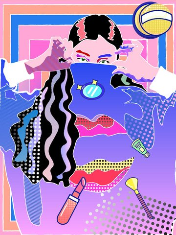 Taobao Home Double Twelve double eleven, Shopping Carnival, Character, Pop Style PNG và Vector illustration image
