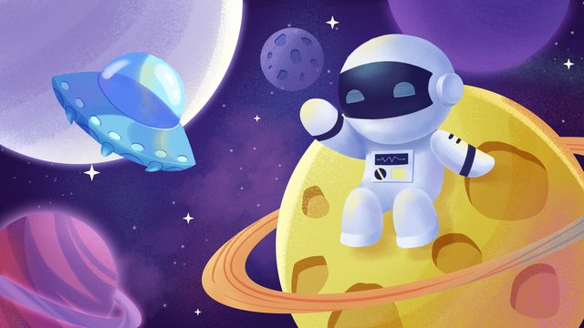 purple brilliant planet robot universe exploration with map psd llustration image illustration image