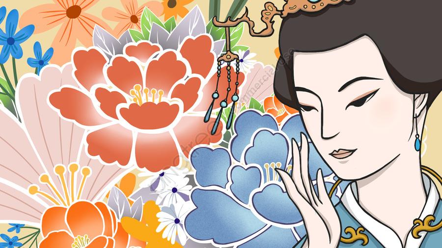 Ancient Beauty Flower Essence Skin Care, Ancient Beauty, Skin Care, Essence llustration image