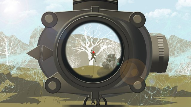 Creative eating chicken stimulating battlefield jedi survival game scene illustration, Eating Chicken, Stimulate The Battlefield, Jedi Survival illustration image