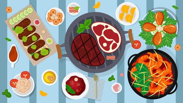 món ăn mùa đông của bữa ăn béo trạch hạnh phúc Hình minh họa Hình minh họa