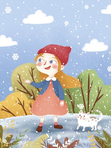 small fresh winter whisper illustration llustration image
