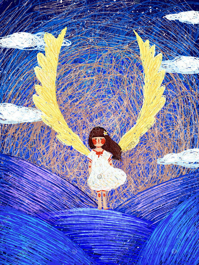 コイルイラストガールドリームキュアオリジナルイラスト, コイル, 治療法, 少女 llustration image