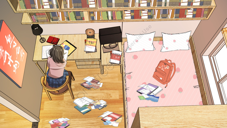 Ilustração Original Do Sprint Da Preparação Exame De Postgraduate, Pós Graduação, Estudante De Graduação, Educação llustration image