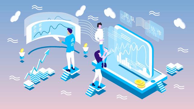 Equipe de escritório negócios original 25 d gradiente estilo ilustração25d  Escritório  Gradiente PNG E Vetor illustration image