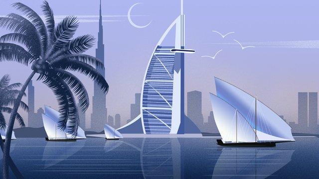 khách sạn city landmark arabian tower sailing Hình minh họa Hình minh họa