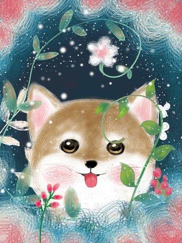 Coil cute pet kitten illustration, Coil Impression, Original, Illustration illustration image