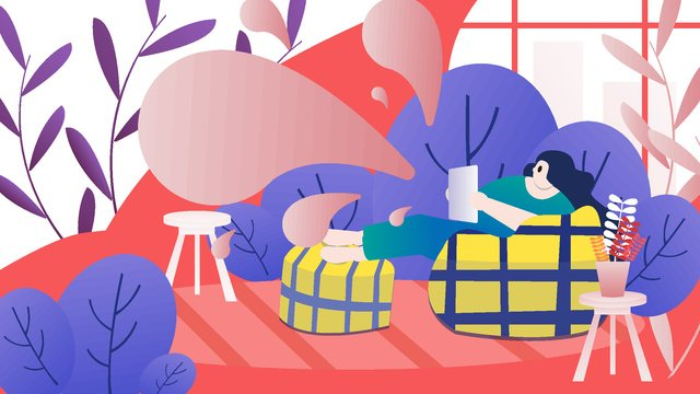 Fashion women e-commerce shopping festival scene vector illustration, Fashion, Female, Shopping Festival illustration image