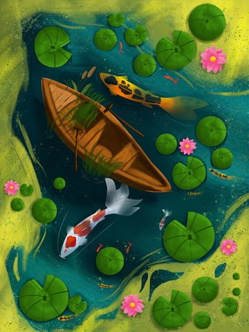 the next one is your koi transporter illustration llustration image