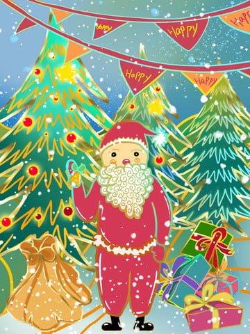 С Рождеством ambilight Иллюстрация Ресурсы иллюстрации