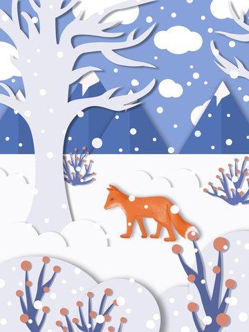 giấy cắt gió lễ hội tuyết minh họa Hình minh họa Hình minh họa