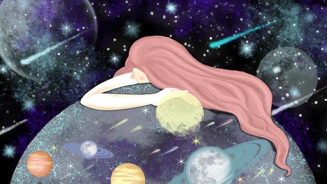starry nightmare wonderland healing girl ภาพ