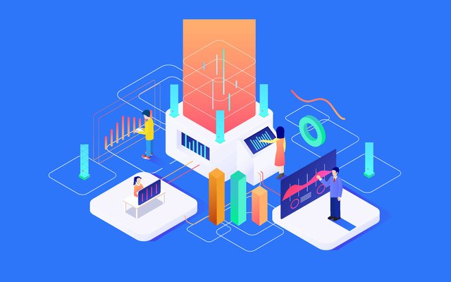 Future technology business office, Vector, Technology, Technology illustration image