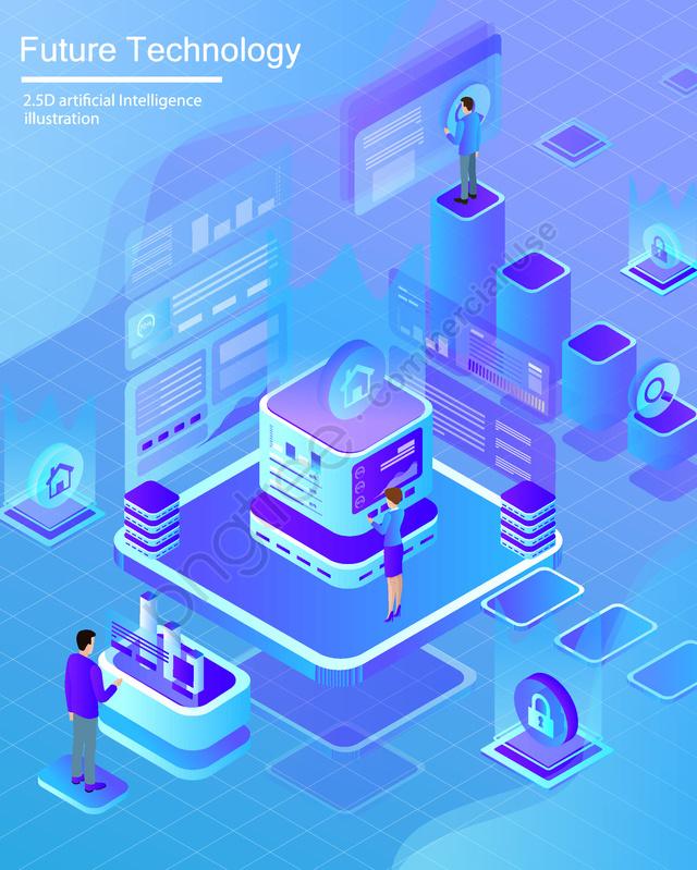 मूल वॉलपेपर पोस्टर कृत्रिम बुद्धिमत्ता 2 5 डी, व्यापार कार्यालय, व्यापार चित्रण, सांस llustration image