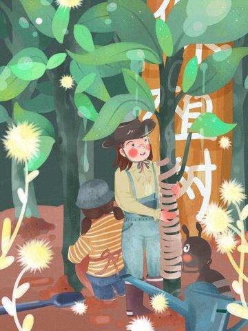 ngày trồng cây xanh bảo vệ môi trường Hình minh họa Hình minh họa