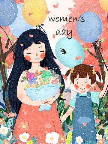beautiful warm mother child Material de ilustração