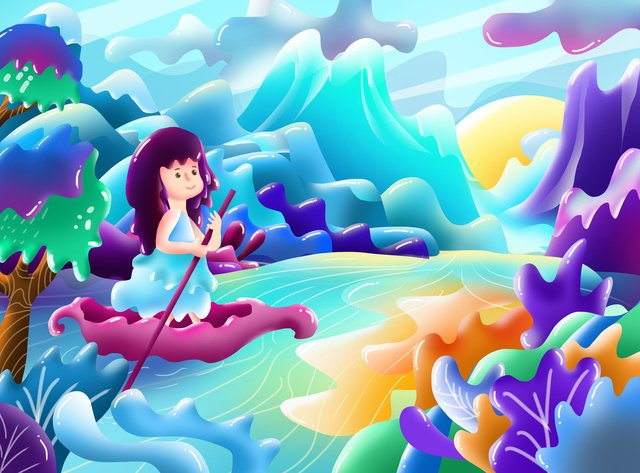 candy fading candy girl Ресурсы иллюстрации Иллюстрация изображения