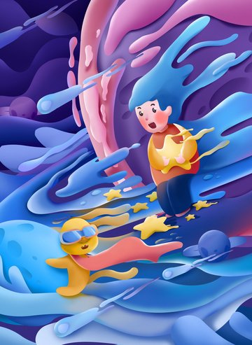 candy melting cute wind three dimensional puppy Ресурсы иллюстрации